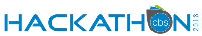 CBS Hacktahon 2018 Logo